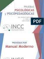 6. PRUEBAS NEUROPSICOLÓGICAS Y PSICOPEDAGÓGICAS