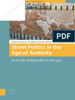 Street Politics in the Age of Austerity