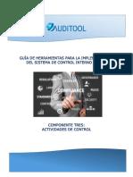 Guía de HISCI - Componente Tres Actividades de Control