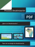 Procesos de Desalinización