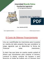 3. Sesion Nro. 3_ El Costo de Capital