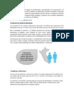 GABA PERU, Trastorno de Conducta Alimentaria