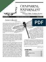 May-June 2007 Chaparral Naturalist - Pomona Valley Audubon Society