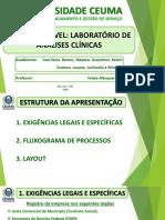 Slide de PLanejamento_Unidade movel de laboratorio clinico_Prof Felipe.ppt