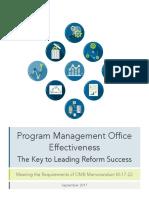 Program Management Office Effectiveness