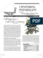 January-February 2008 Chaparral Naturalist - Pomona Valley Audubon Society