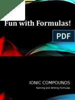 Fun With Formulas