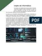 Concepto de Informática (1)