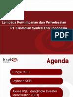 Presentasi KSEI SIPF Juni 2014