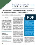 InformedeConectividad4T-2009Cuartotrimestrede2009