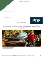 Opinião Do Dono_ Toyota Hilux, 50 Anos