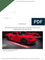 Será Que Vem Ao Brasil_ Porsche Agora Empresta Carros Nos EUA