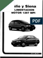 Palio y Siena Alimentacion Motor 1297 Mpi