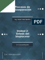 [PBIO] Unidad IID - Extracción
