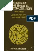 Introduccion dos teorias de antropologia social