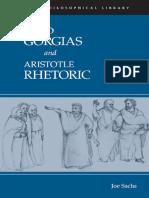 Gorgias & Rhetoric - Joe Sachs Translator