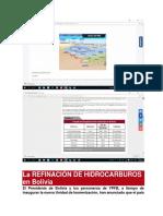 La Refinación de Hidrocarburos en Bolivia