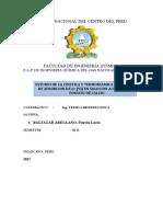 Evaluación de La Cinetica y Termodinamica Del Proceso de Adsorcion de Cromo