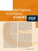 DPU Diversidad Lingüística en El Uruguay