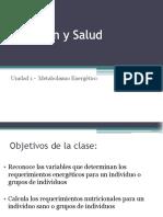 CLASE 4 - Requerimientos en Grupos Etareos (1)