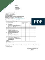 Formulir Desk Evaluasi Pkm