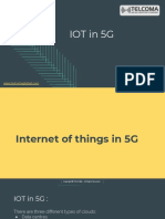 IOT in 5G Training and Certification by TELCOMA Global