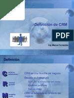 CRM Tema 2-Definicion de Crm