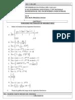 Ejercicios Cálculo II