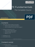 LTE Fundamentals Training and Certification by TELCOMA Global