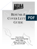 Resume & Cover Letter Guide