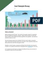 IELTS Bar Chart Sample Essay