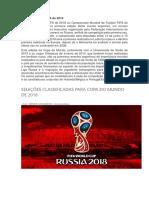 Copa Do Mundo FIFA de 2018