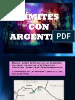 Limites Con Argentina
