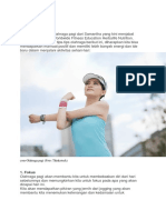 Tips Memulai Olahraga Pagi