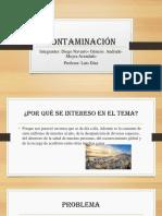 Contaminación Moyra,Diego,Genesis