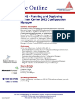 Planning and Deploying System Center 2012 Configuration Manager
