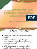 Dekontaminasi Alat Alat Kesehataninstrument Dan Cleaning Di Cssd 85