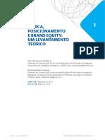 Marca, Posicionamento e Brand Equity_um Levantamento Teórico