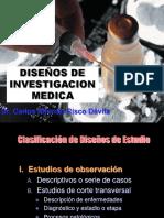 Diseños de Investigacion-Medicina