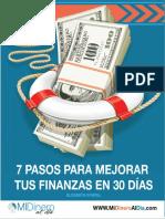 7 Pasos para mejorar tus finanzas