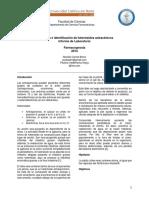 3. Extracción e Identificación de Heterósidos Antracénicos (1)