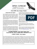 October 2010 California Condor Newsletter - Ventura Audubon Society