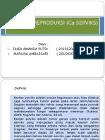 CA Sistem Reproduksi (CA Serviks)