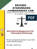 Katarungang Pambarangay (New)