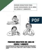 Procesos Didacticos Del Area de Ciencia y Ambiente