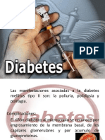 Diabetes mellitus-ENFERMERÍA