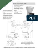 DSR67 Volumetric feeder