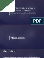 Asuhan Keperwatan Mioma Uteri Dan Kista Ovarium