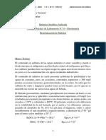 T.P.L. N° 4 - Sulfatos