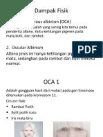 dampak fisik albinisme (clara&sasqi).pptx